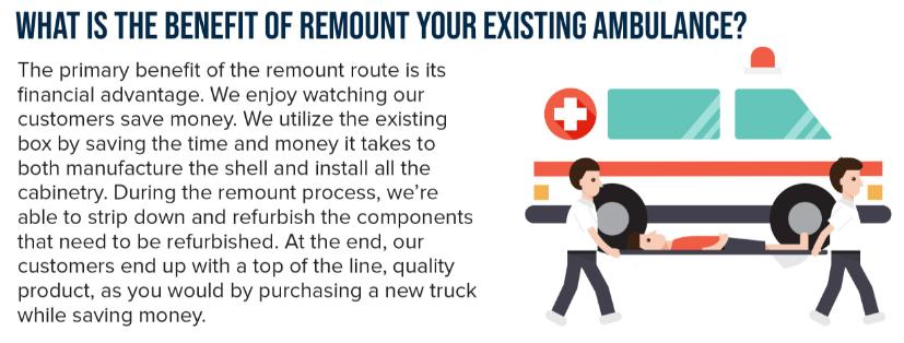 Ambulance Remount Benefits