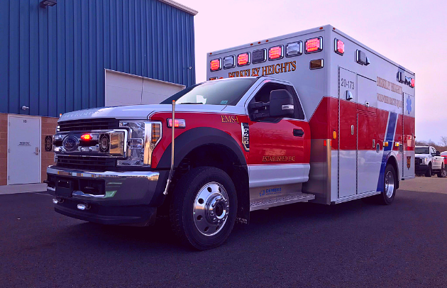 Berkeley Heights Demers Ambulance: First Priority Emergency Vehicles