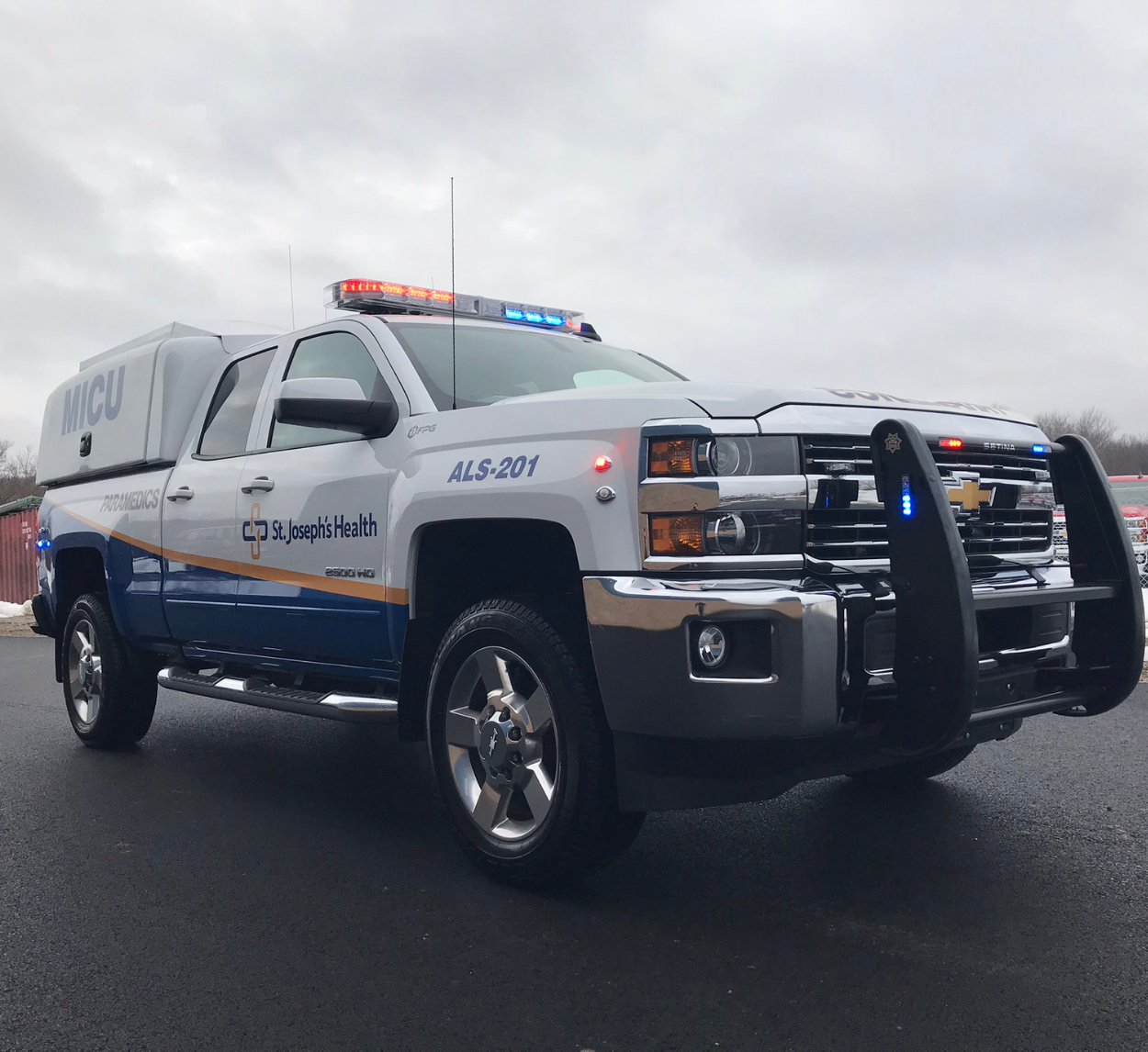 Copy of First Priority Emergency Vehicles Conversion Division Custom ESU