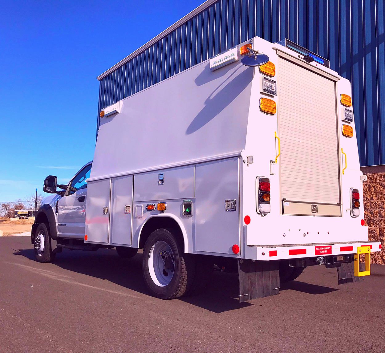 Copy of First Priority Emergency Vehicles Custom Utility Truck Specialty Vehicles