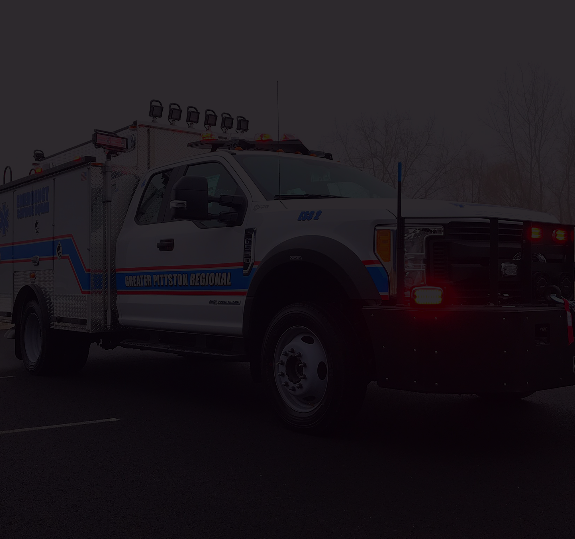 Custom ESU First Priority Emergency Vehicles