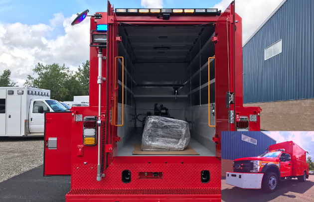 FDNY Custom Utility Truck First Priority Emergency Vehicles Specialty Vehicles
