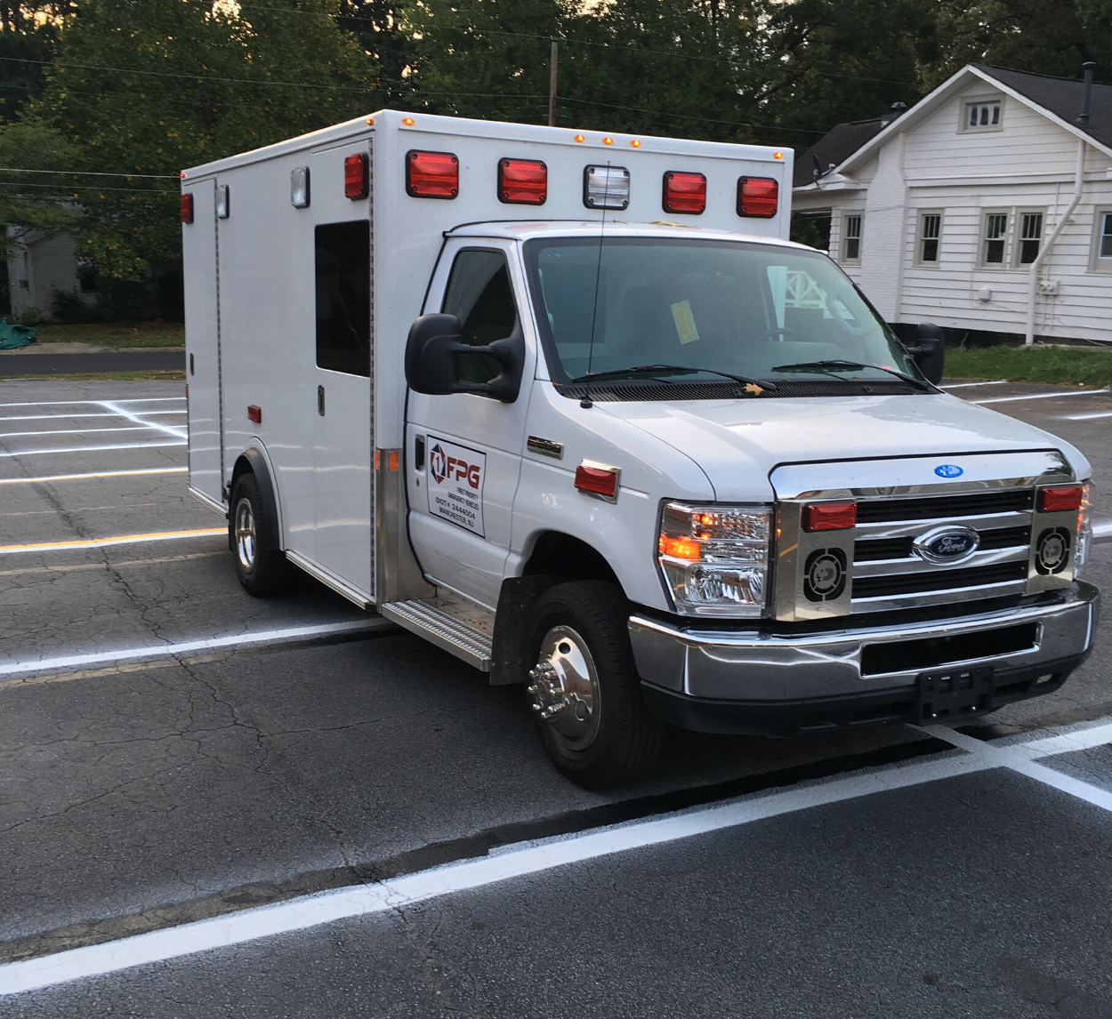 FPG Demers Demo Unit 133 First Priority Emergency Vehicles Ambulances New Available For Sale
