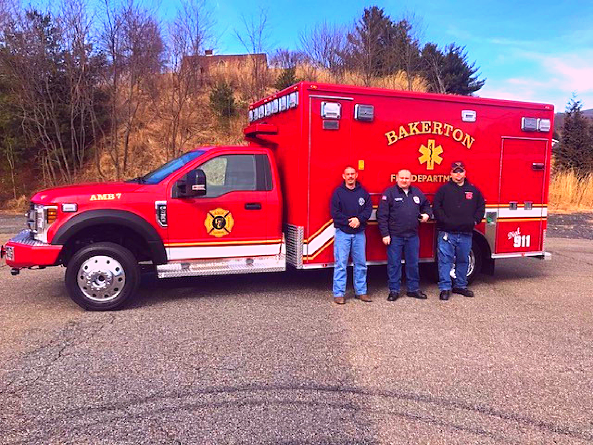First Priority Emergency Vehicles Ambulance Remount Bakerton Fire Department