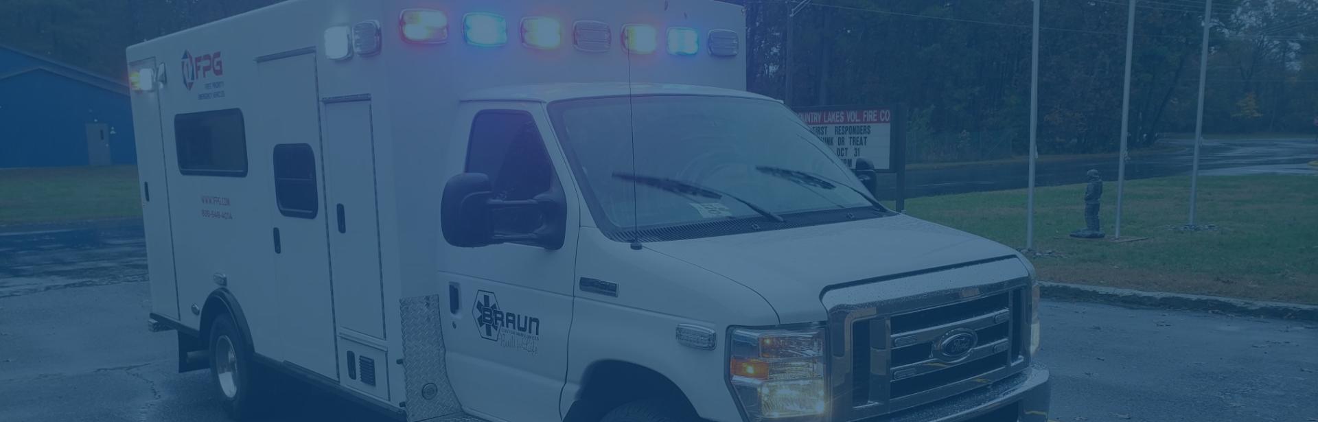First Priority Emergency Vehicles Ambulance Remount Demos