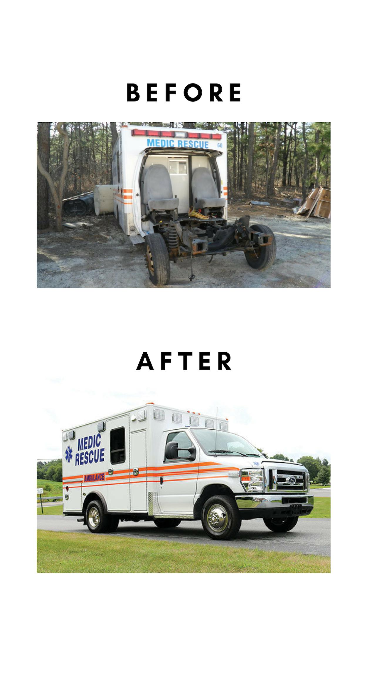 First Priority Emergency Vehicles Ambulance Remounts Used Ambulances Cheaper Ambulances