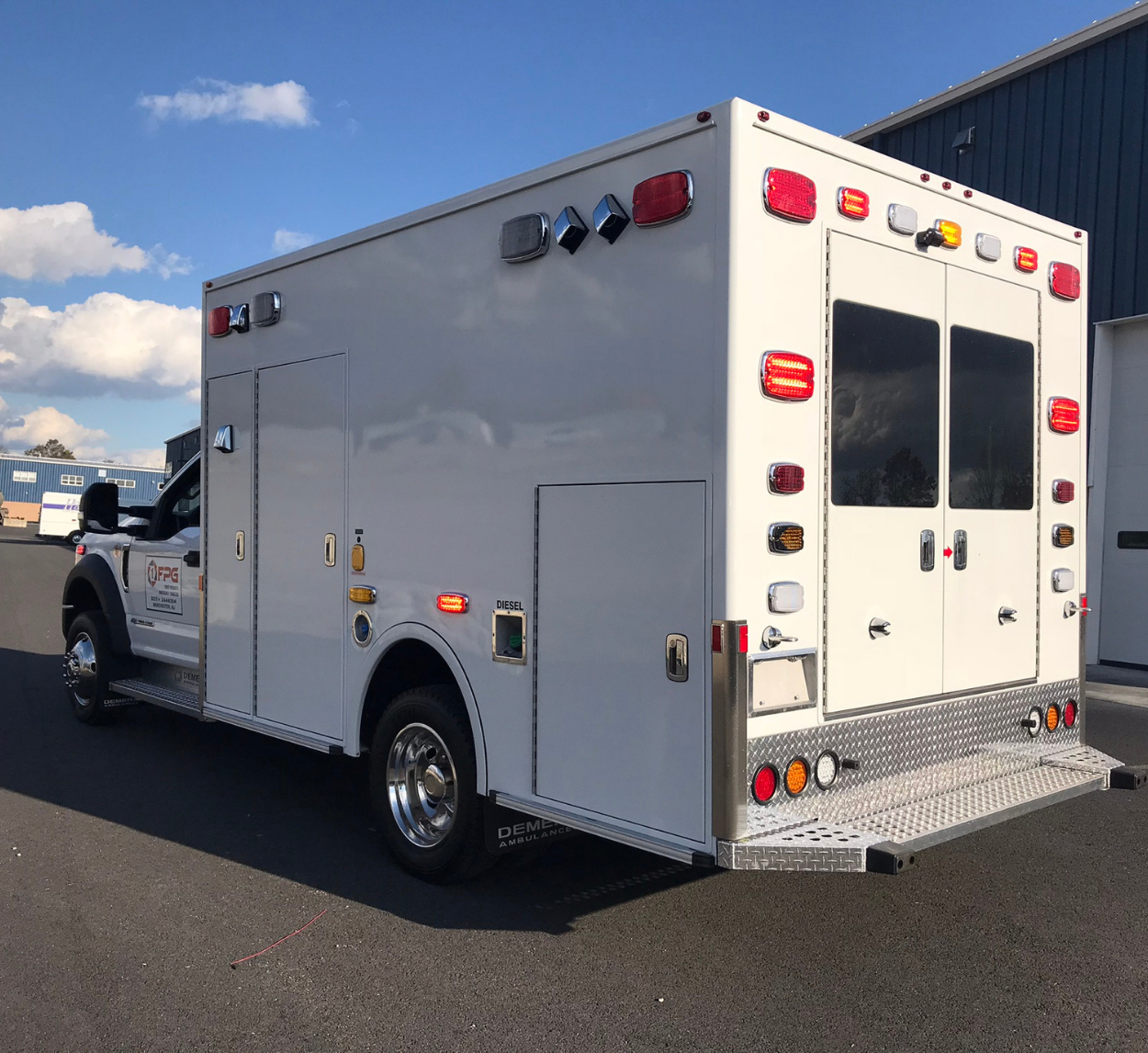 First Priority Emergency Vehicles Demers MXP150 Ambulance Demo