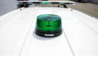 First Priority Emergency Vehicles Command Light