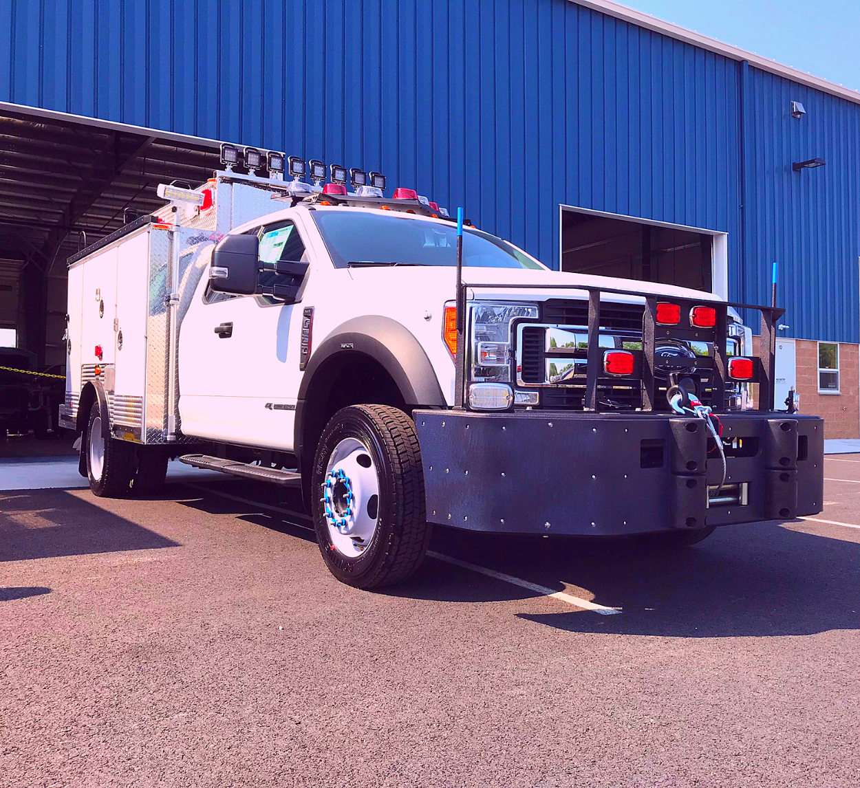 First Priority Emergency Vehicles Conversion Division Custom ESU