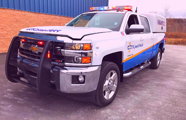 First Priority Emergency Vehicles Conversion Division Custom PickUp St Joes