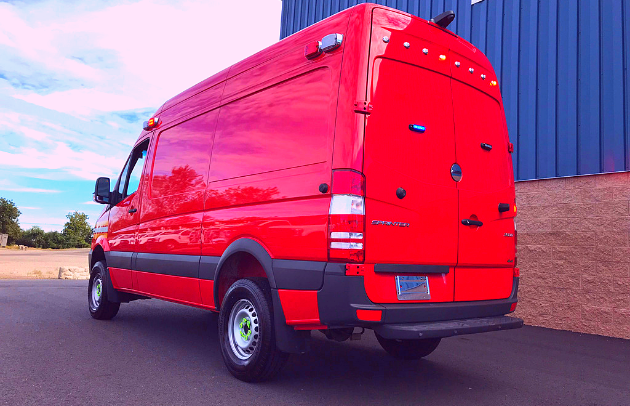 First Priority Emergency Vehicles Conversion Division Custom Sprinter