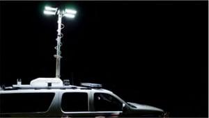 First Priority Emergency Vehicles Custom SUV Light Tower