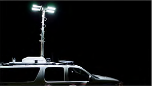 First Priority Emergency Vehicles Custom SUV Light Tower