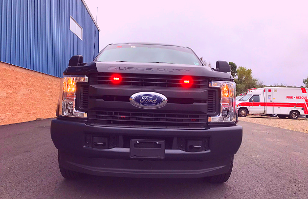 First Priority Emergency Vehicles Delivered Custom Pickup Truck