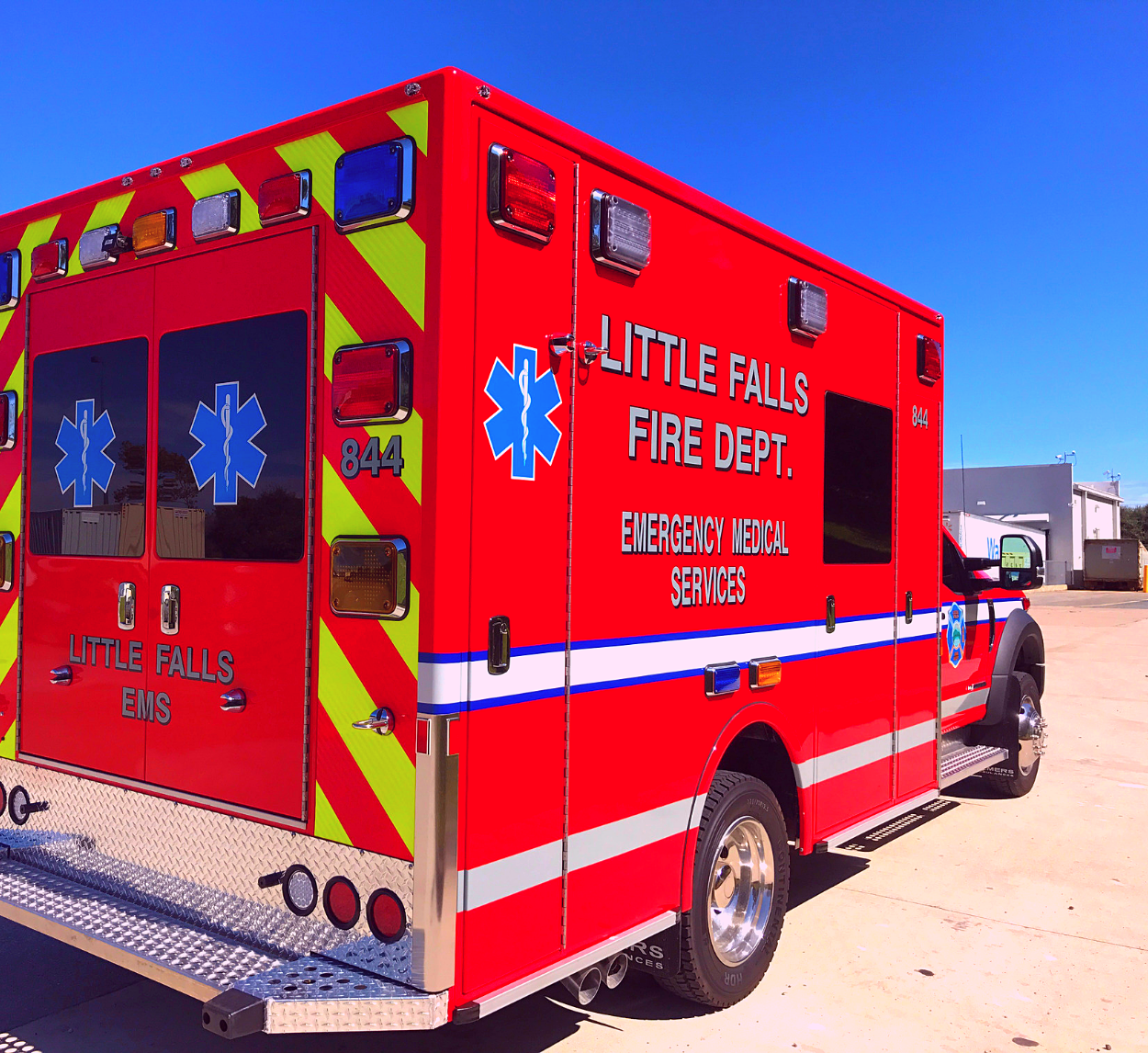First Priority Emergency Vehicles Demers Ambulance Dealer