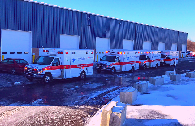 First Priority Emergency Vehicles Demers Ambulances Robert Wood Johnson Delivery