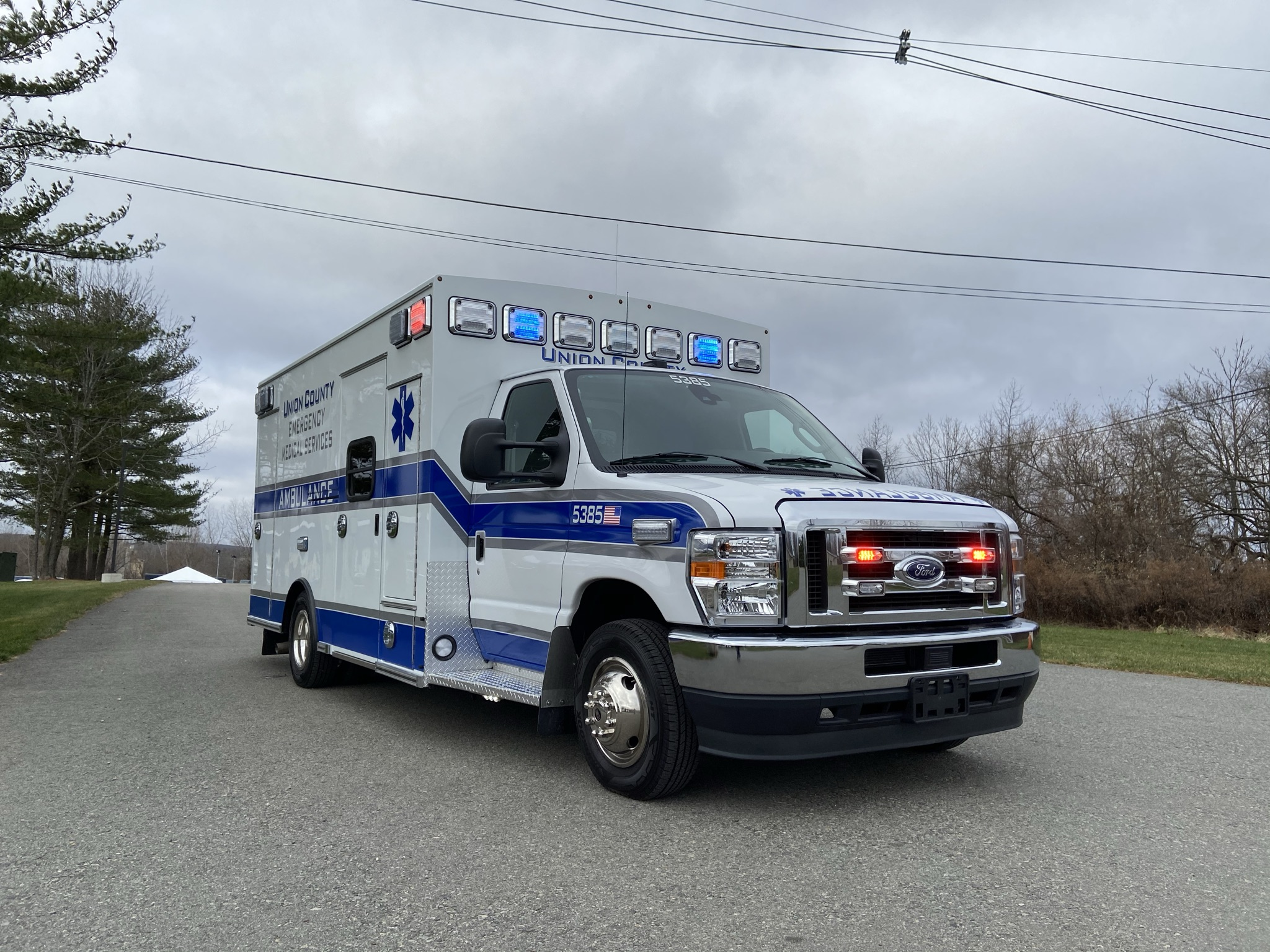 First Priority Emergency Vehicles Union County EMS Braun Ambulance Chief XL Type 3 2020 1