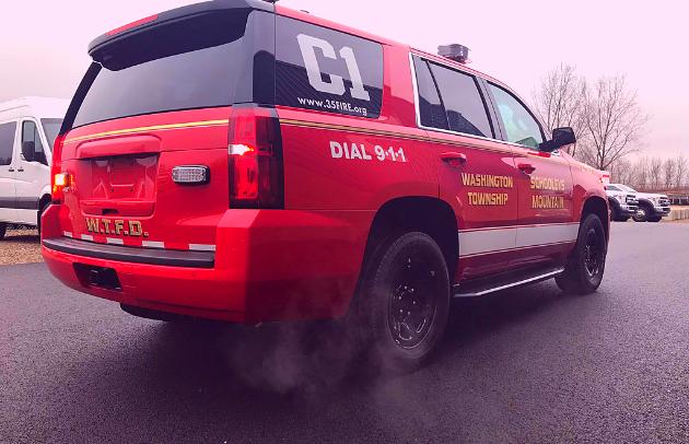 First Priority Emergency Vehicles: Custom SUV: Schooleys Mountain