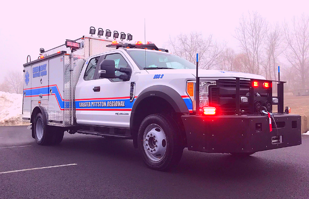 First Priority Emergency Vehicles Greater Pittston ESU
