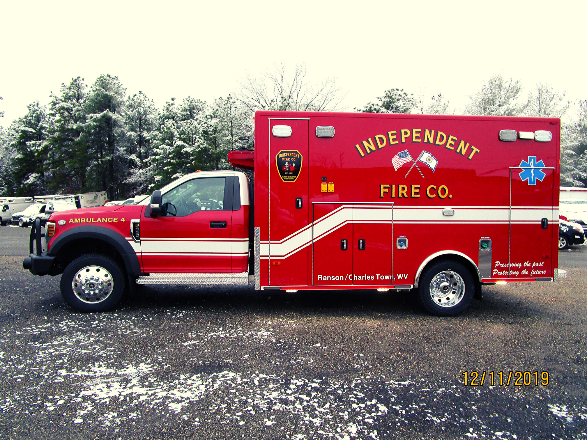 First Priority Independent Fire Company Remount Ambulnace