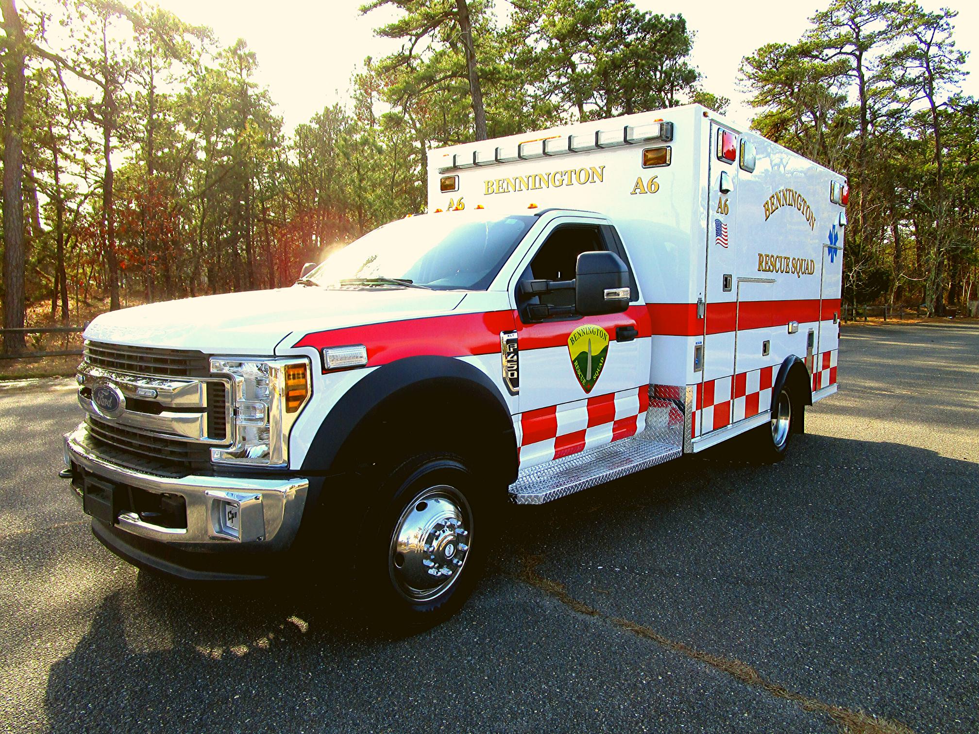 First Priority NERV Bennington Ambulance Remount