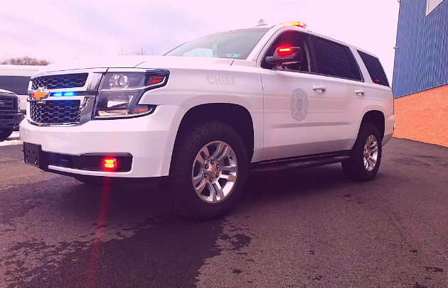 Forest Grove Fire Company Custom SUV Tahoe Fire Department First Priority Emergency Vehicles