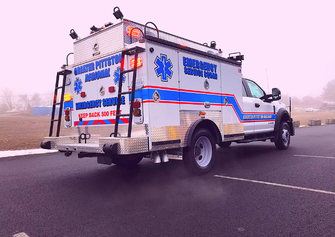 Greater Pittston Emergency Squad Custom ESU