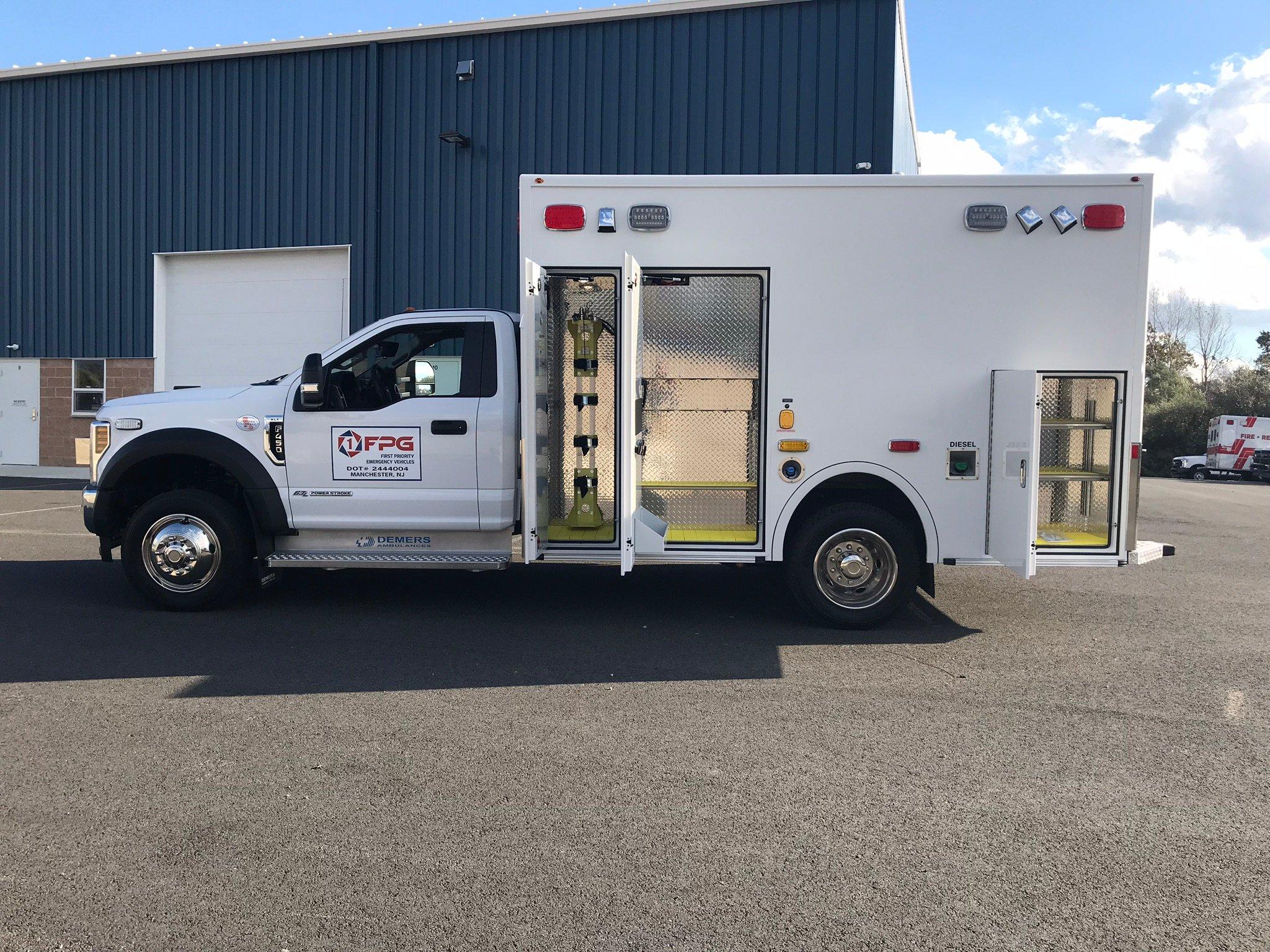 Buy New Ambulance: Demers Ambulances