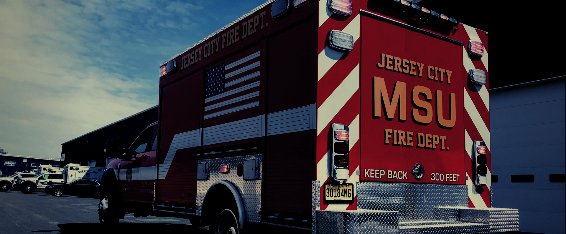 Jersey City MSU Fire Dept Fire Rescue