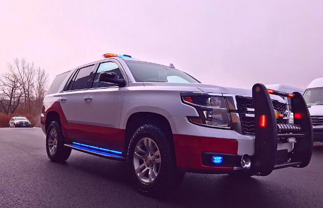 Montgomery Fire Department Custom Chevy Tahoe Specialty Vehicle First Priority Emergency Vehicles