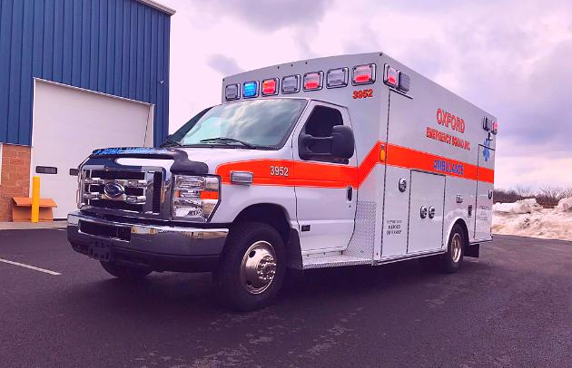 Oxford First Priority Braun Ambulance