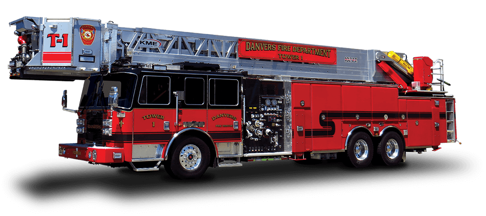 First Priority Emergency Vehicles KME Fire Aerial