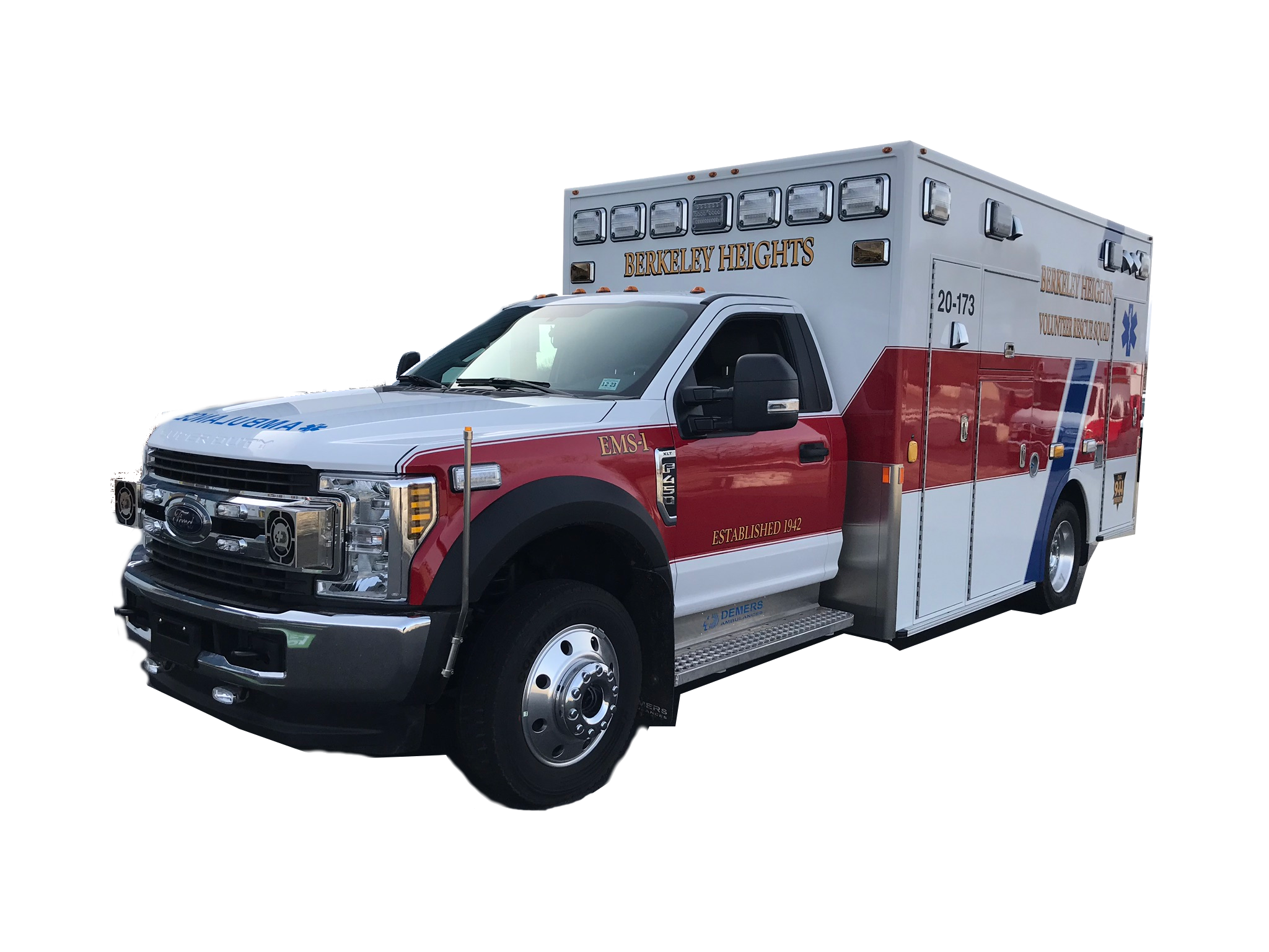 Buy New Ambulance/Ambulance Remount Division