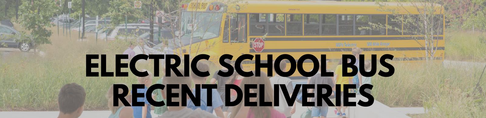 Electric School Buses