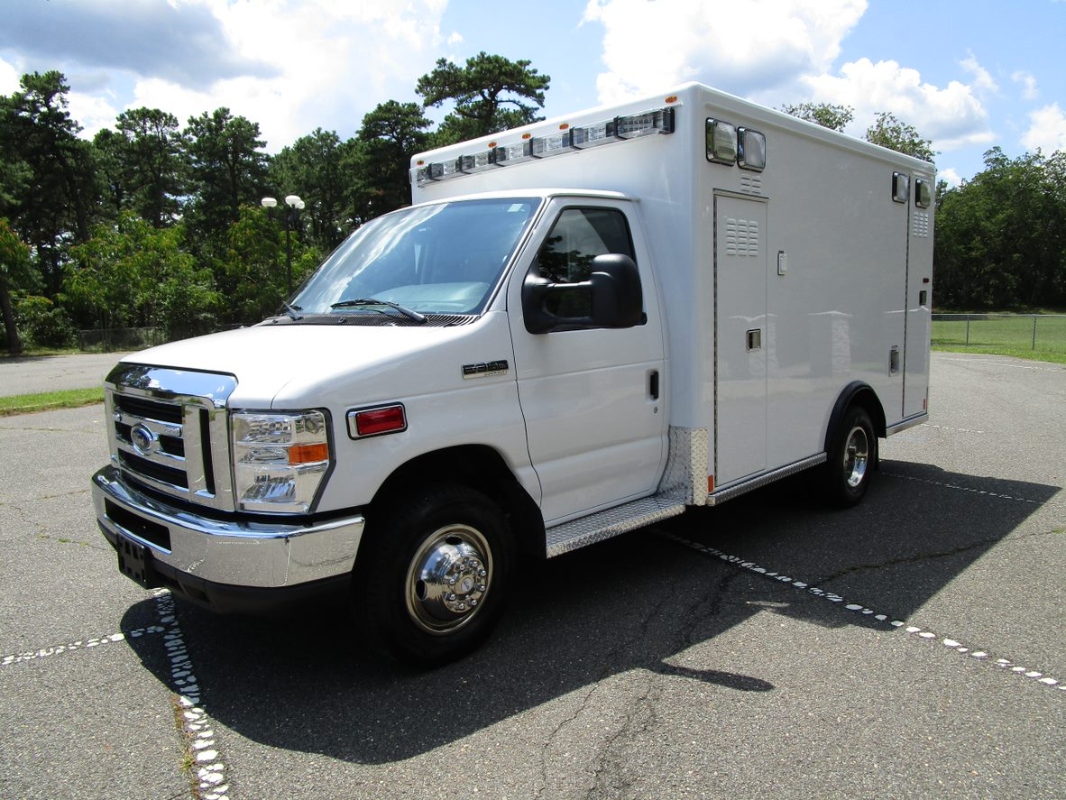 Ambulance Remount for Sale Buy Used New Ambulance
