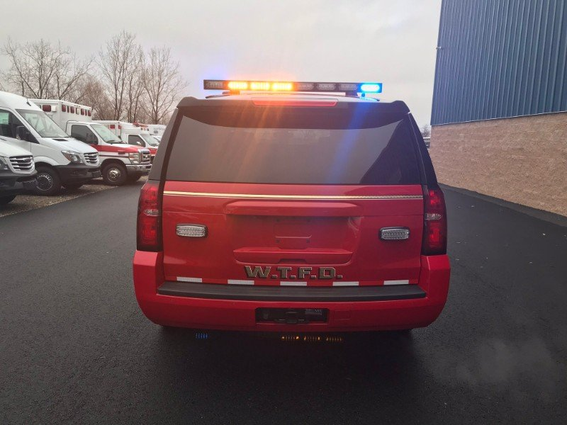 First Priority Emergency Vehicles: Vehicle Conversions