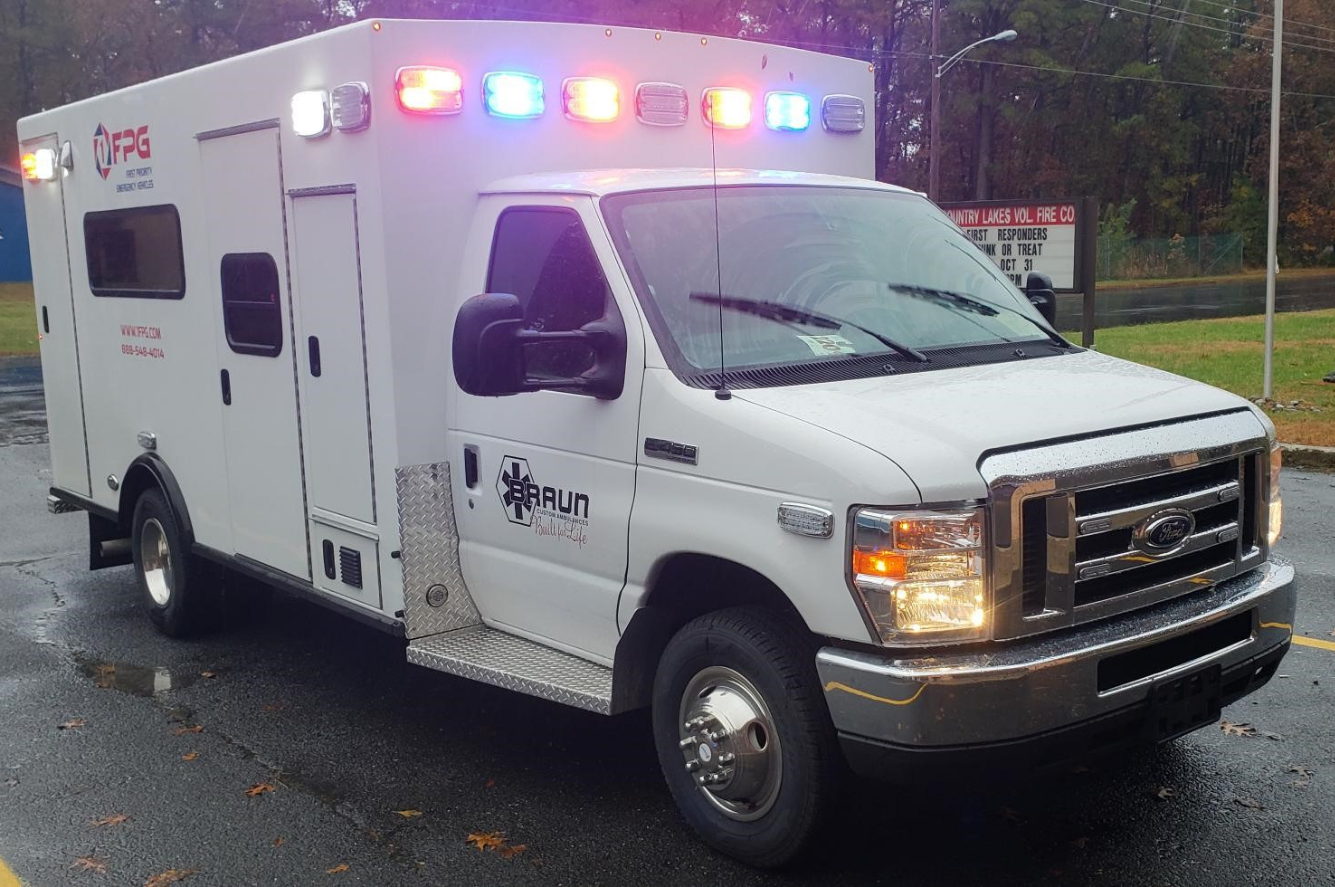 First Priority Emergency Vehicles: Available Ambulances In Stock